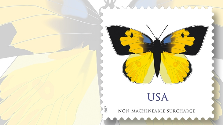 california-dogface-butterfly-stamp