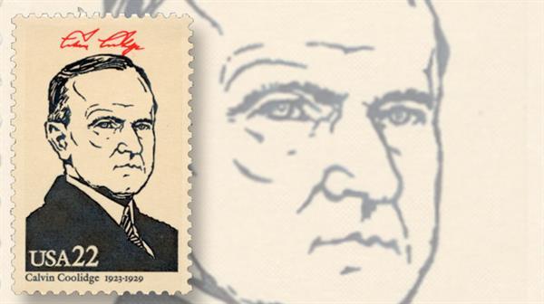 calvin-coolidge-president-stamp