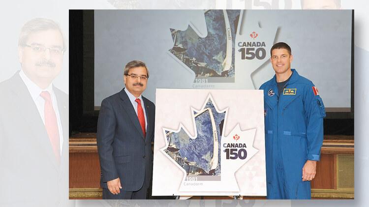 canada-150-canadarm-stamp-unveiling-jeremy-hansen-astronaut