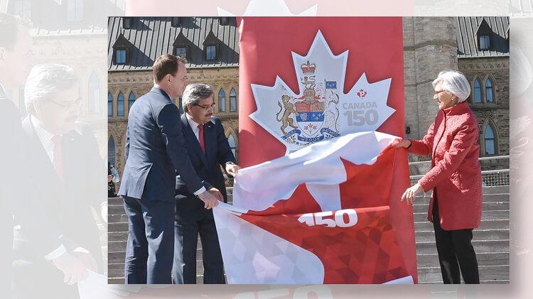 canada-150-constitution-patriation-stamp-unveiling