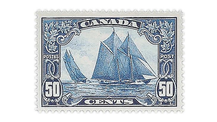 canada-1929-schooner-bluenose-stamp
