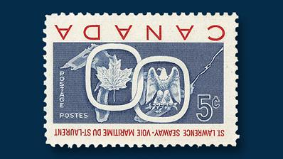 canada-1959-five-cent-saint-lawrence-seaway-red-inverted
