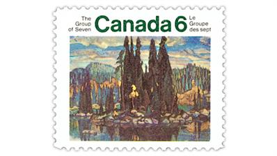canada-1970-group-seven-landscape-artists-stamp