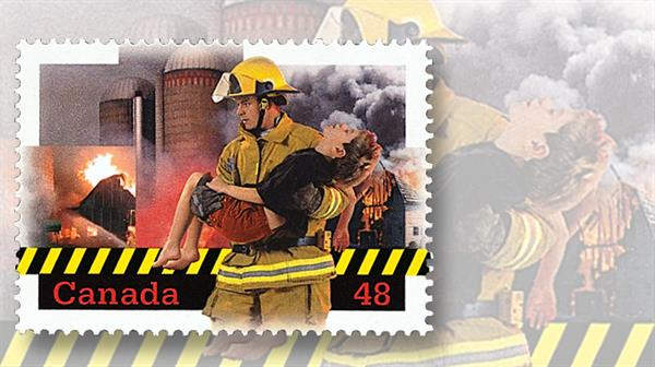canada-2003-volunteer-firefighters-stamp