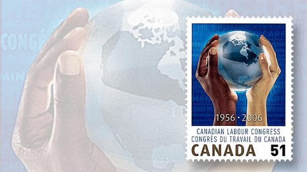 canada-2006-canadian-labour-congress-stamp