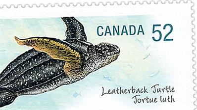 canada-2007-endangered-species-leatherback-turtle-stamp-preview