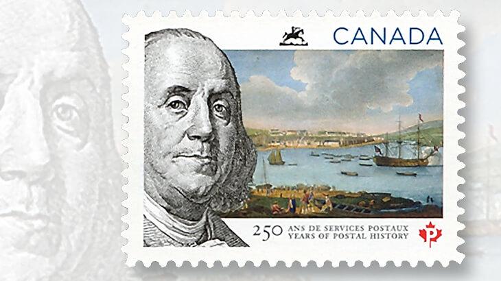 canada-2013-benjamin-franklin-stamp