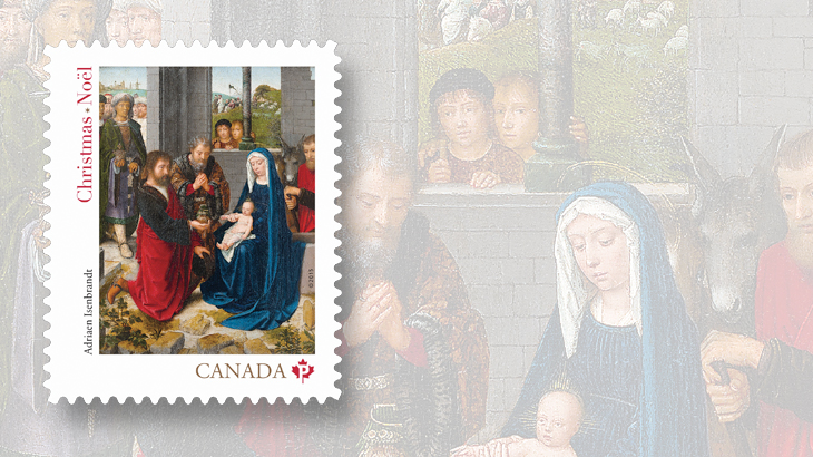 canada-2015-christmas-stamp-madonna-and-child-adriaen-isenbrandt