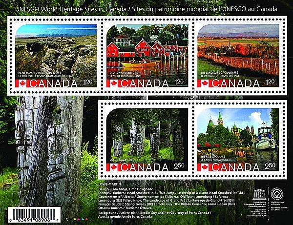 canada-2016-stamp-program-unesco-world-heritage-sites-souvenir-sheet