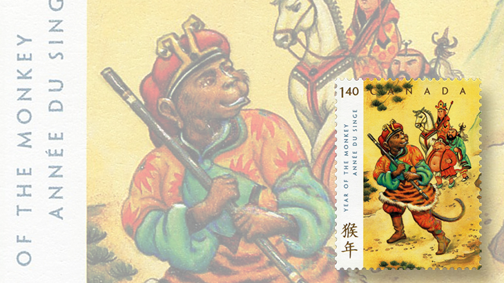 canada-2016-stamp-program-year-of-the-monkey