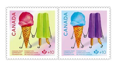 canada-2019-ice-cream-cone-semipostal-stamps