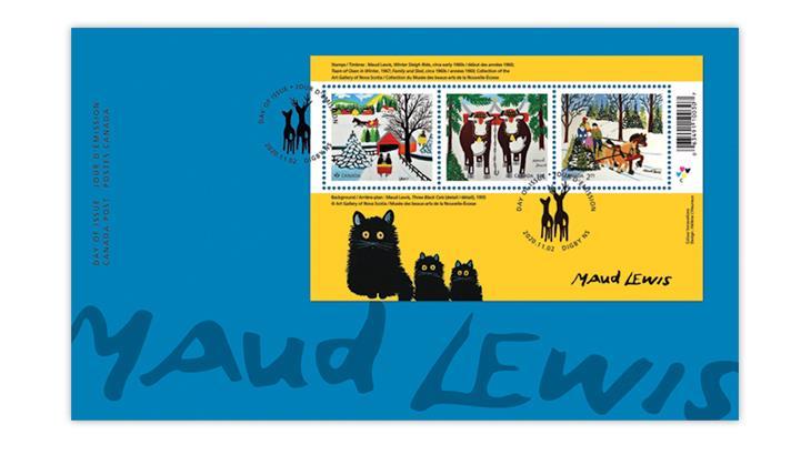 canada-2020-maud-lewis-souvenir-sheet