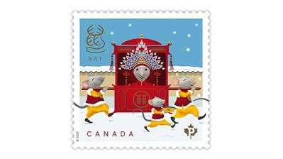 canada-2020-year-of-the-rat-bride-wedding-stamp
