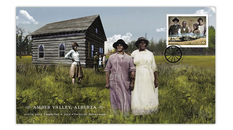 canada-2021-amber-valley-black-history-month-stamp-first-day-cover