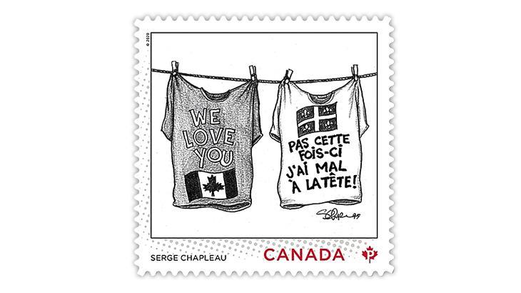 canada-2021-serge-chapleau-editorial-cartoonist-stamp