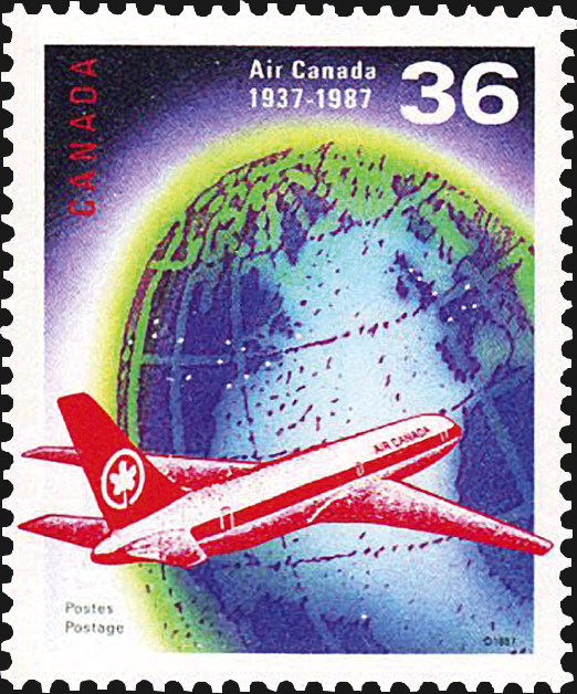 canada-air-canada-stamp-scott-1145
