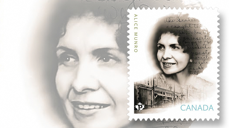 canada-author-alice-munro-stamp