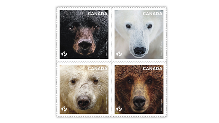 canada-bears-booklet-commemorative-stamps