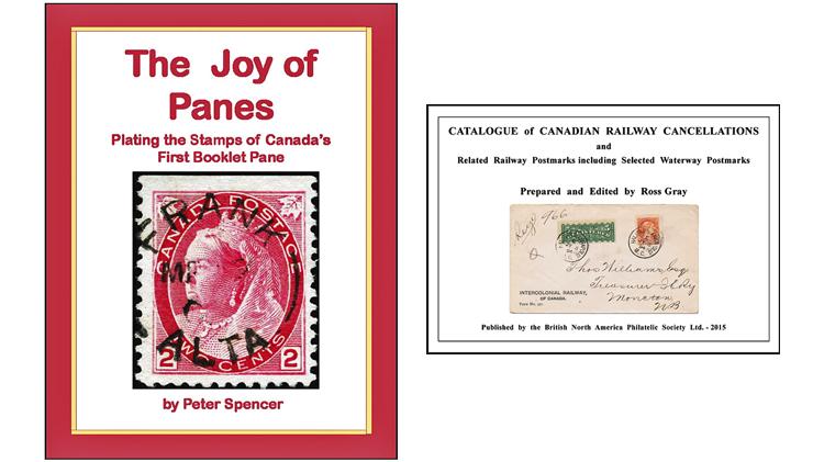 canada-booklet-pane-railway-postmark-books-bnaps