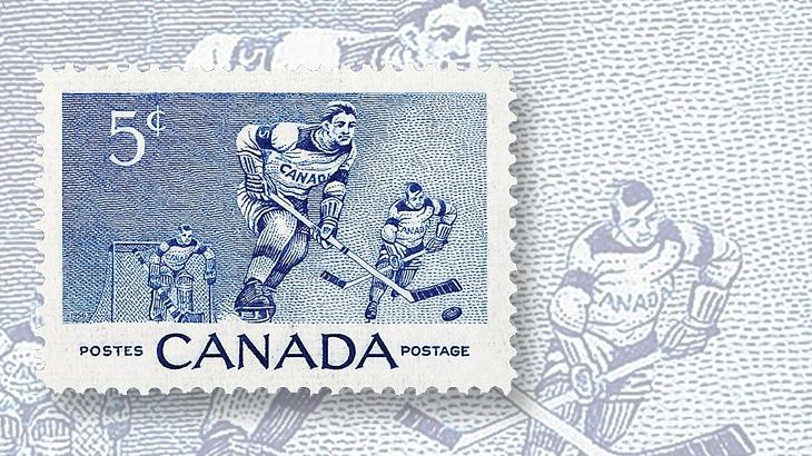 canada-first-hockey-stamp-goalie-1956