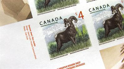canada-four-dollar-bighorn-sheep-stamp