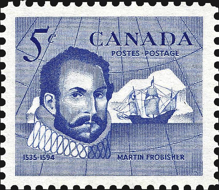 canada-martin-frobisher-explorer-stamp-1963