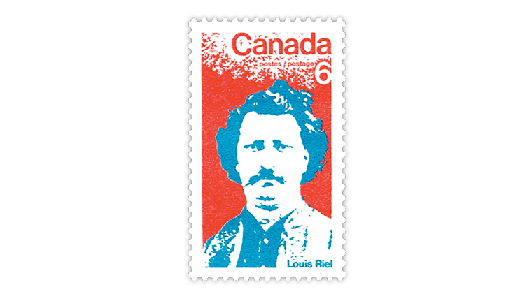 canada-post-1970-louis-riel-stamp