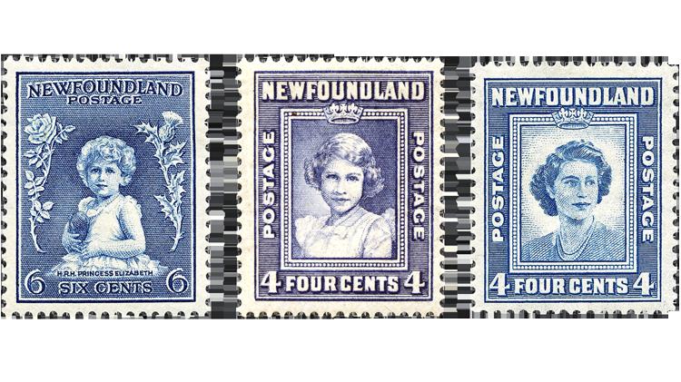 canada-princess-elizabeth-stamps