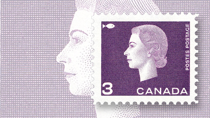 canada-queen-elizabeth-stamp-ernst-roch-fishing
