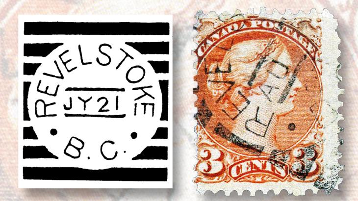 canada-squared-circle-postmarks-revelstoke-british-columbia
