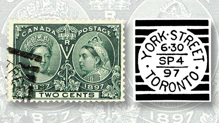 canada-squared-circle-postmarks-toronto-york-street