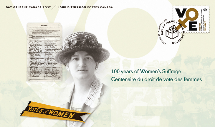 canada-suffrage-vote-first-day-cover-march