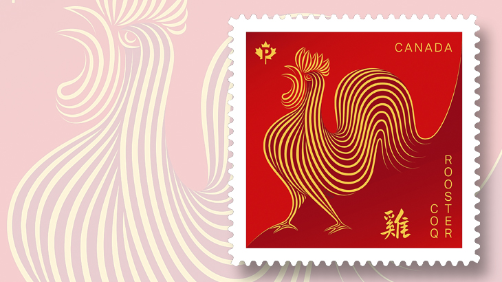 canada-year-of-the-rooster-p-stamp