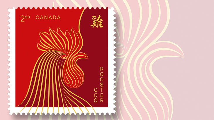 canadas-international-rate-year-of-the-rooster-stamp