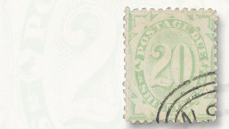 canceled-to-order-australia-20sh-postage-due-stamp