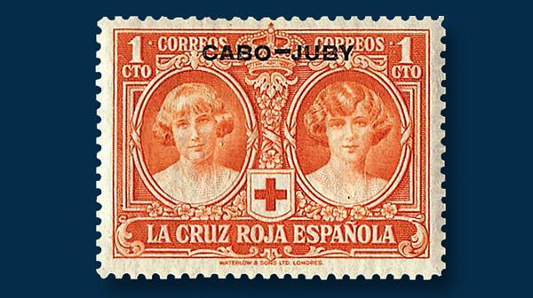cape-juby-1926-royal-family-red-cross-semipostal-set