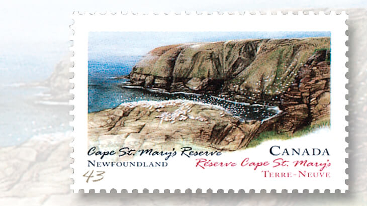 cape-saint-marys-seabird-ecological-reserve-stamp