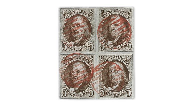 caspary-block-1847-benjamin-franklin-stamps
