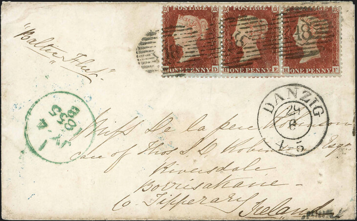 cavendish-1855-crimean-war-cover-penny-red-stamps