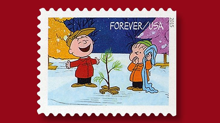 Charlie Browns Christmas.Caption A Charlie Brown Christmas Stamp
