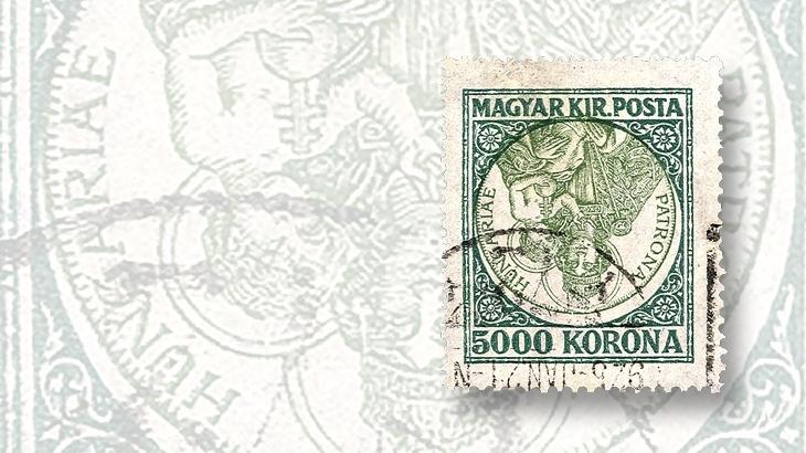 cherrystone-1925-first-madonna-invert-5000-korona-stamp