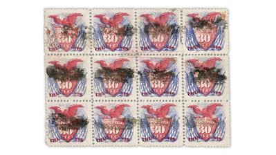 cherrystone-auction-united-states-1869-shield-eagle-flag-block