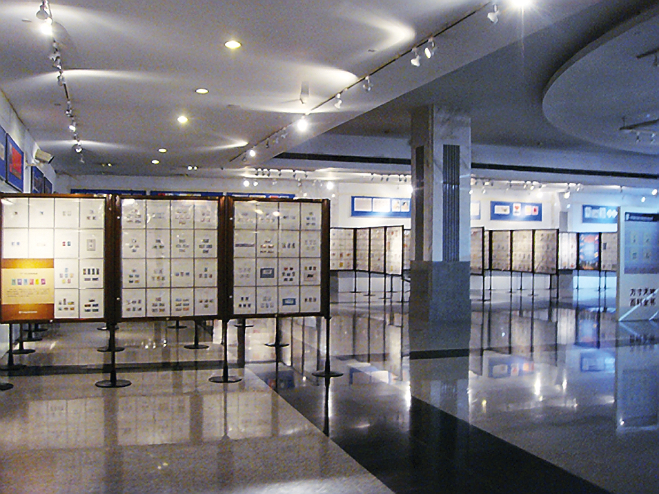 china-national-postage-stamp-museum-exhibit-frames