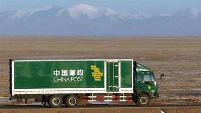 china-post-truck
