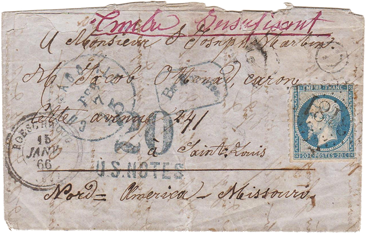 classic-us-postal-history-depreciated-currency-covers-france