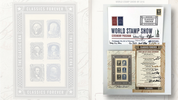 classics-forever-stamps-first-day-ceremony-program-autographs