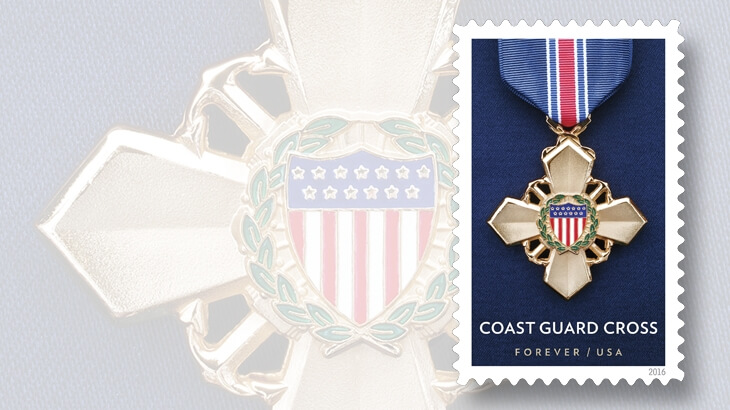 Service Cross Medals forever stamps to be issued May 30 in