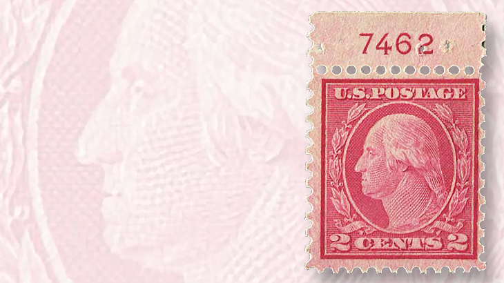 coil-waste-two-cent-washington-franklin-stamp