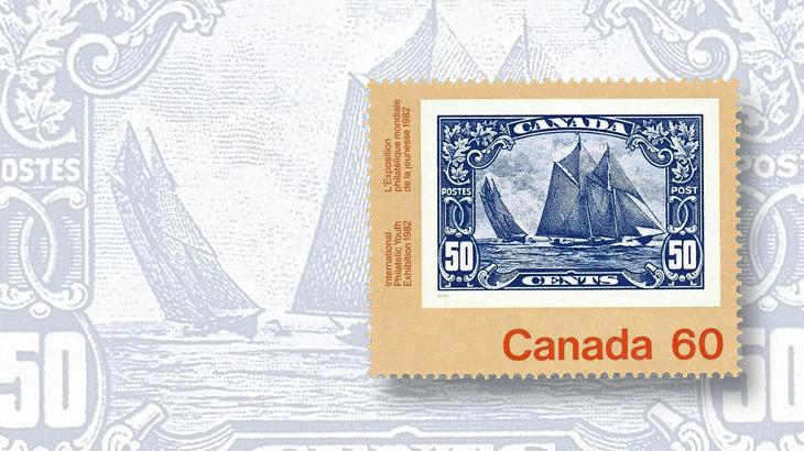 collecting-canada-old-town-lunenburg-1982-schooner-bluenose-stamp