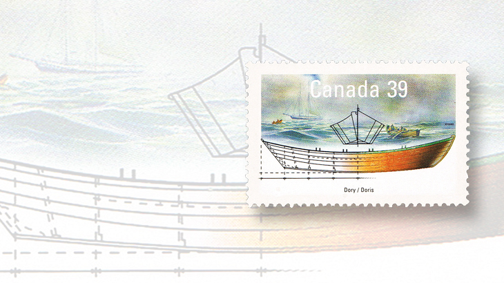 collecting-canada-old-town-lunenburg-1990-working-boats-stamp